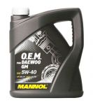 MANNOL O.E.M. for Daewoo GM 5W-40
