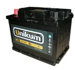 Автомобильный аккумулятор UNIKUM 12V 60Ач